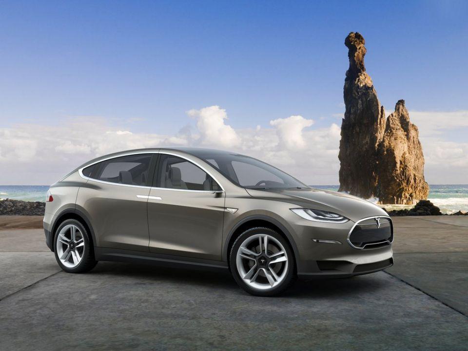 Tesla Model X Elektrisch Rijden Op Zonne Energie
