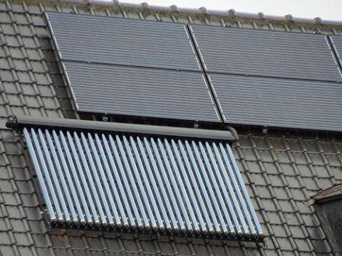 Zonnecollector zonnepaneel